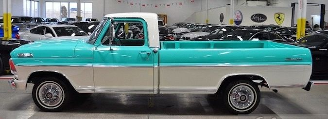 1967 Ford F Series Specs F100 Trucks Ford Pickup F100 Truck