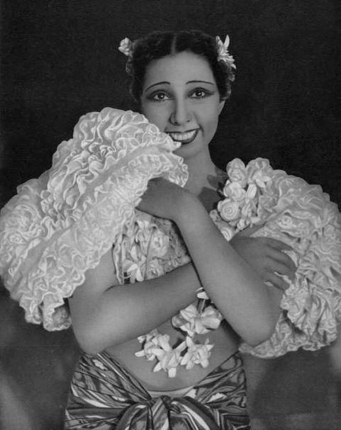 Josephine Baker, vers 1935.