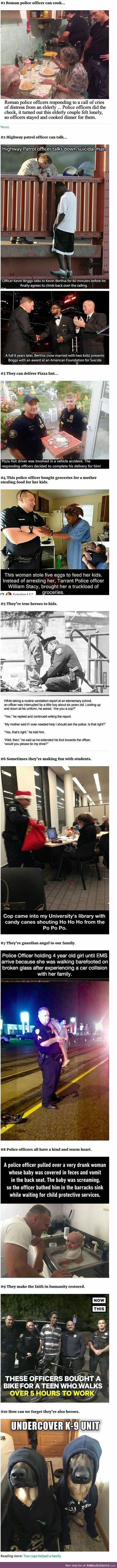 Random acts of kindness: Police Edition