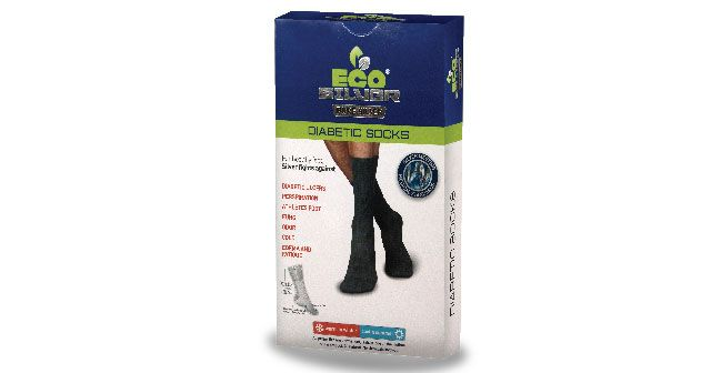 Diabetic socks is made with pure silver(chandi) and cotton.silver naturally increase blood circulation, anti-bacterial,anti-odor,anti-edema and anti-static.