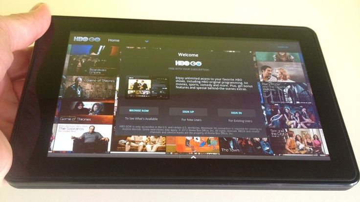 How to solve Login issues with HBO GO using Kindle Fire tablet?