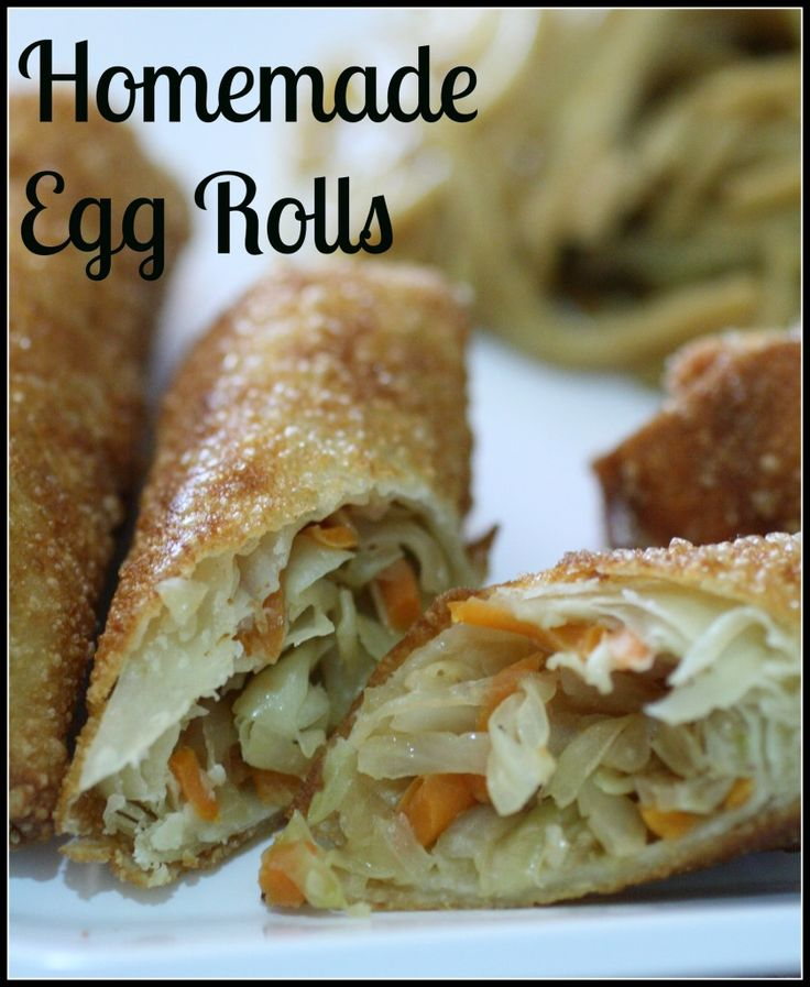 Making Egg Rolls isn't as hard as it seems! These were actually super easy to make and my husband raved about them for days! Check this recipe out and you will never buy egg rolls at the store again! #eggrolls