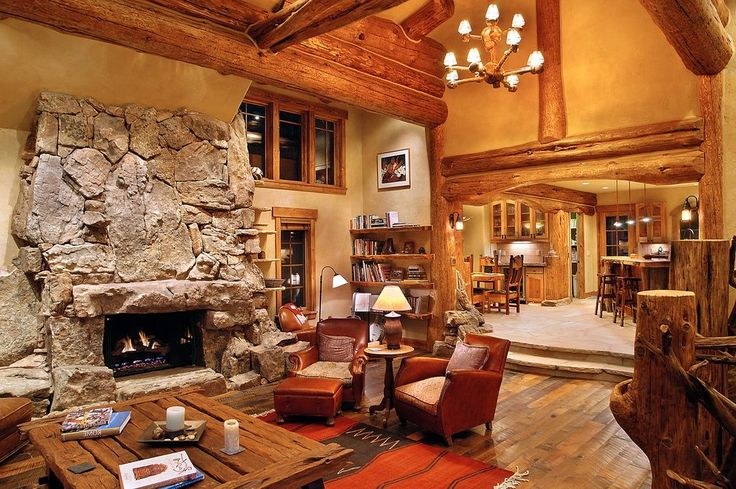 19 Log Cabin Home Décor Ideas and they're absolut…