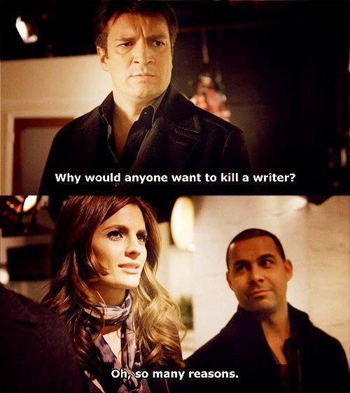 Why would anyone want to kill a writer?