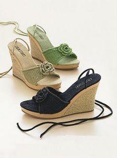 Ideas en Crochet: Sandalias y zapatillas tejidas