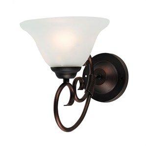 Gaston Traditional Bronze Coloured 60w Wall Light (Oriel Lighting)