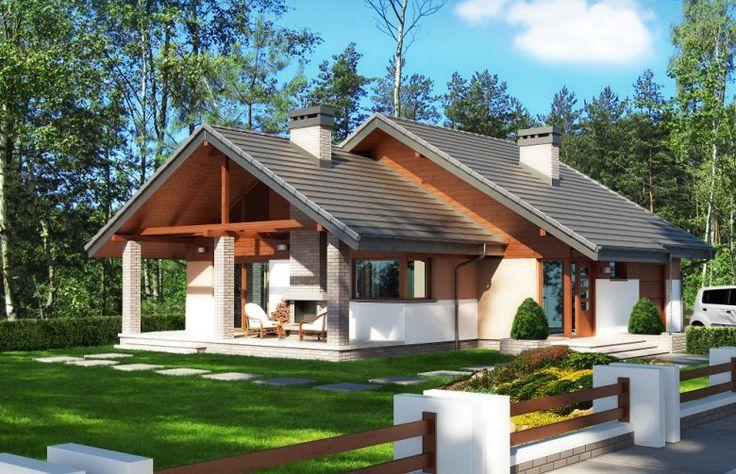 Projekt domu dwurodzinnego Maja