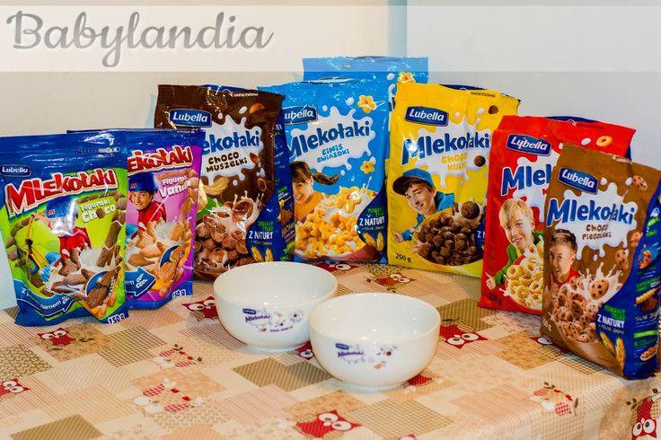 BABYLANDIA :): Mlekołaki na śniadanie