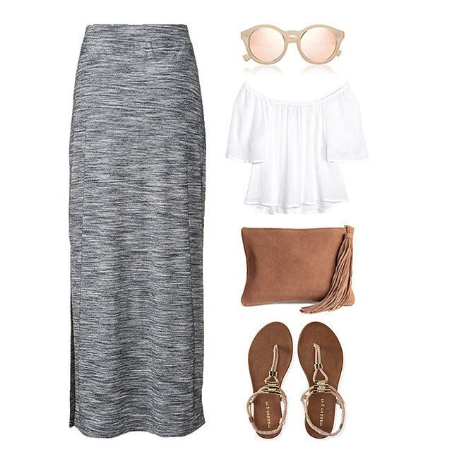 How to Style and Where to Buy the Prettiest Maxi Skirts of the Season