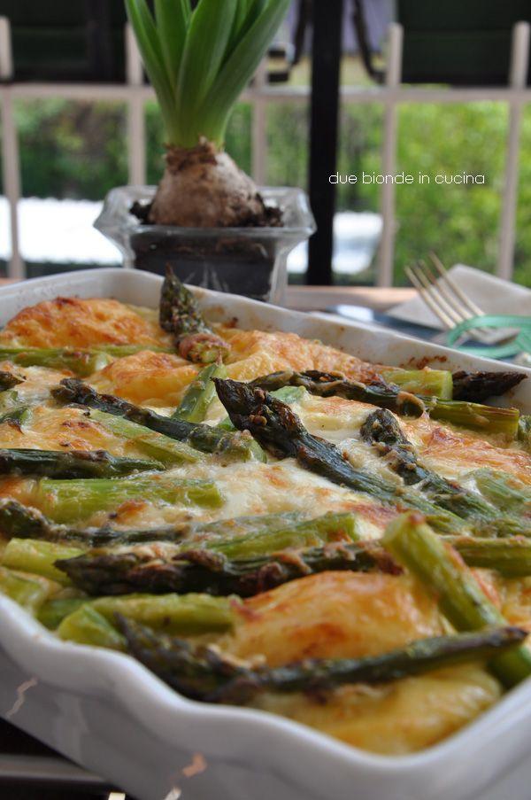 Due bionde in cucina: Ramequin agli asparagi