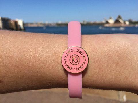 22 Sydney Frangipani Pink Bracelet