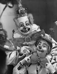 Felix and Amelia Adler http://famousclowns.org/famous-clowns/felix-adler-biography/
