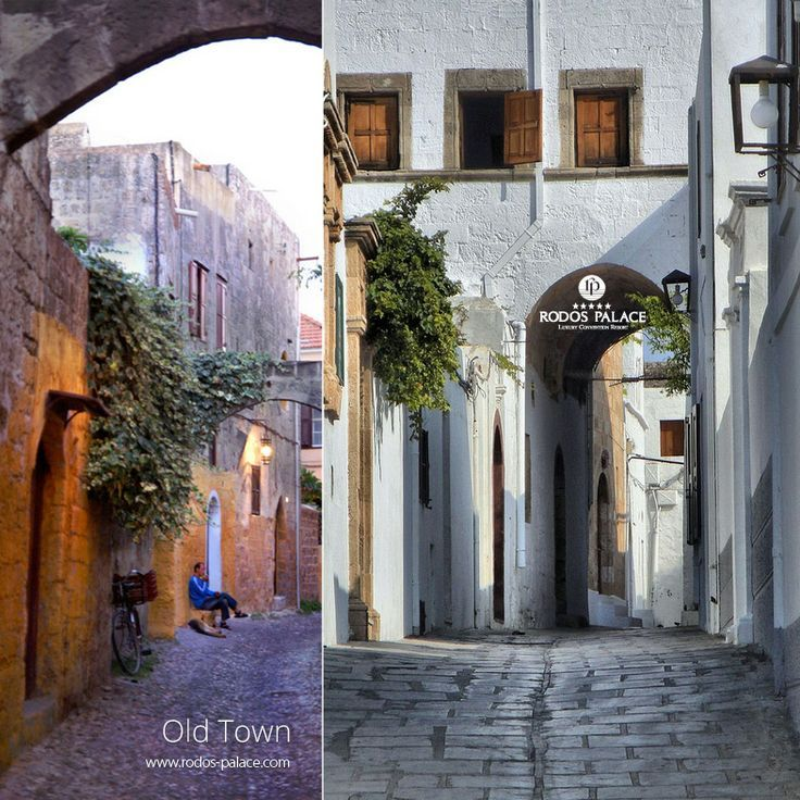 What about taking a walk in the alleys of the Old Town?! Morning walk in the shops and the archaeological places! Night walk in the alleys for drink and dinner! Enjoy Rodos island!! www.rodos-palace.com