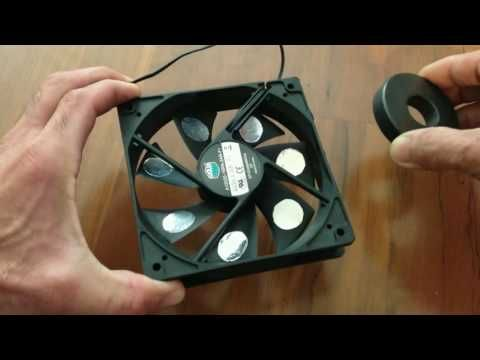 FREE ENERGY GENERATOR A PERPETUAL MOTION MACHINE & COMPUTER FAN EXPLAINE...