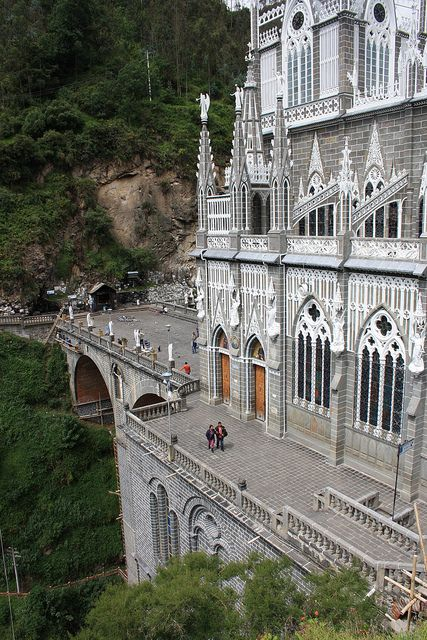 Las Lajas Sanctuary, Colombia #latinamerica