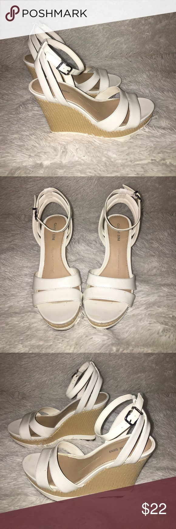 Gianni Bini wedges You will LOVE these super cute Gianni Bini wedges -- Perfect for your summer dresses! 🌸 Make an offer! Gianni Bini Shoes