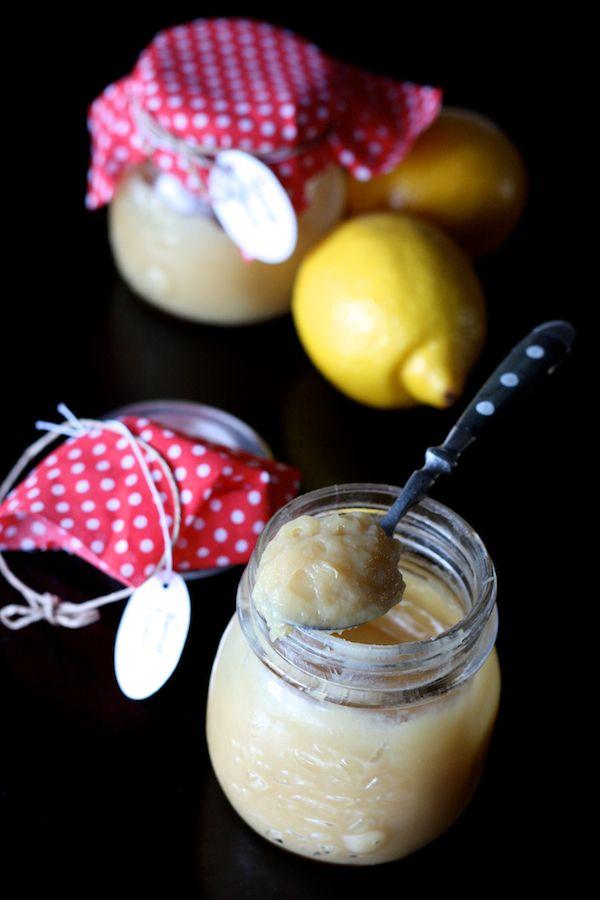 Lemon curd au miel, gingembre et huile de coco (sans sucre raffiné, oeufs ni beurre) | Cuisine en scène
