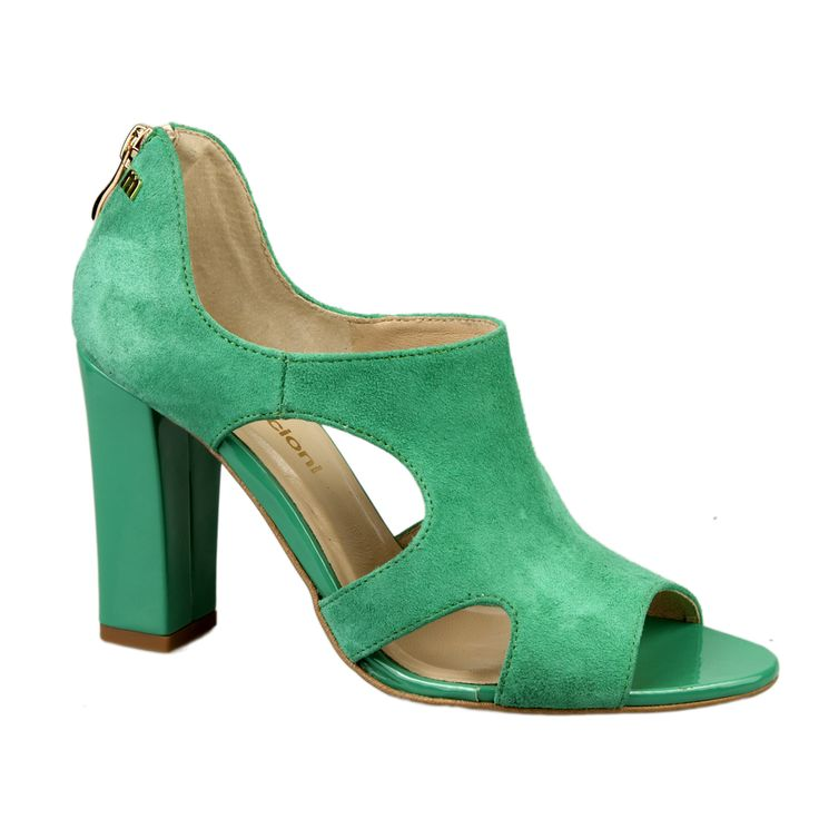 Sandały kolor zielony kod 517.120.7485 - Maccioni