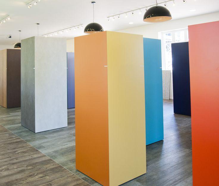 Polyrey showroom #laminate