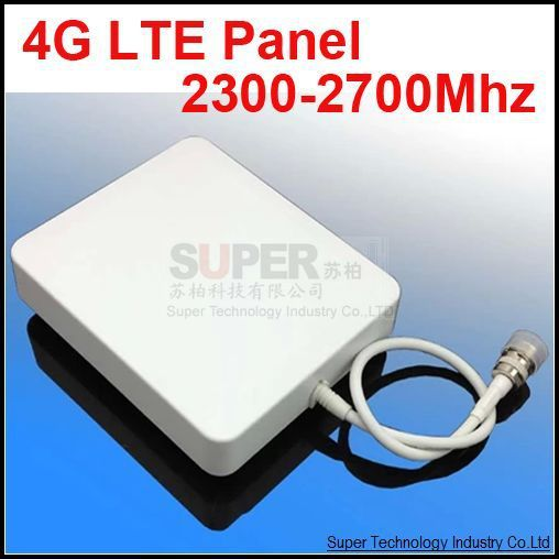 repeater LTE 4G antenna 2300-2700mhz LTE antenna 4G panel high gain 10dbi 4G booster use mobile phone antenna