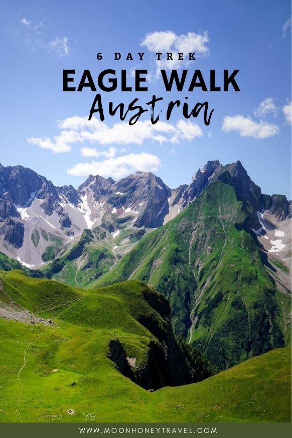 Trekking Across The Lechtal Alps Along The Eagle Walk Austria In 2020 Europe Trip Itinerary Hiking Trip Travel