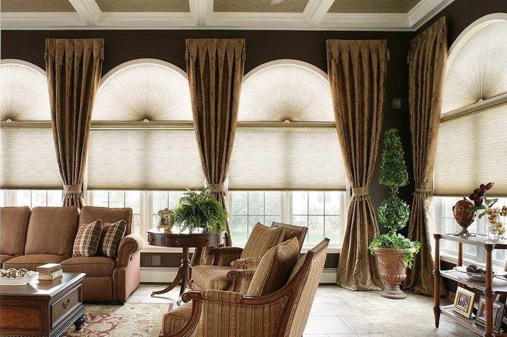 window treatment ideas | Window Treatment Ideas For Large Windows With Ornamental Plants