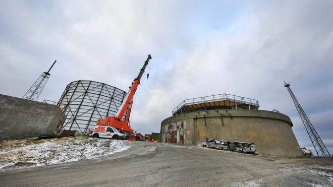 A new RAF radar facility that will track Russian military aircraft approaching the north of the UK will be operational soon, the MoD has said. The £10m Remote Radar Head facility is being built at Saxa Vord on the island of Unst in Shetland.