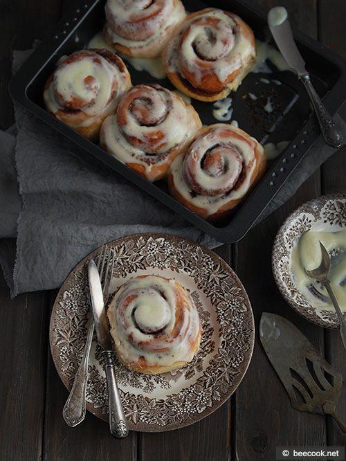 Cinnamon – булочки «Синнабон»