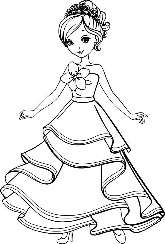 Картинки принцессы раскраски для девочек 11 лет, телефон открытку