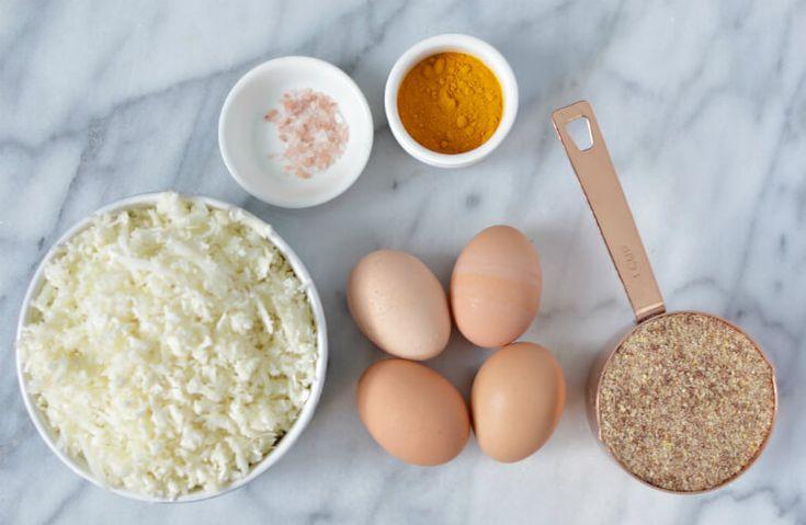 Golden Cauliflower Turmeric Flatbread Recipe