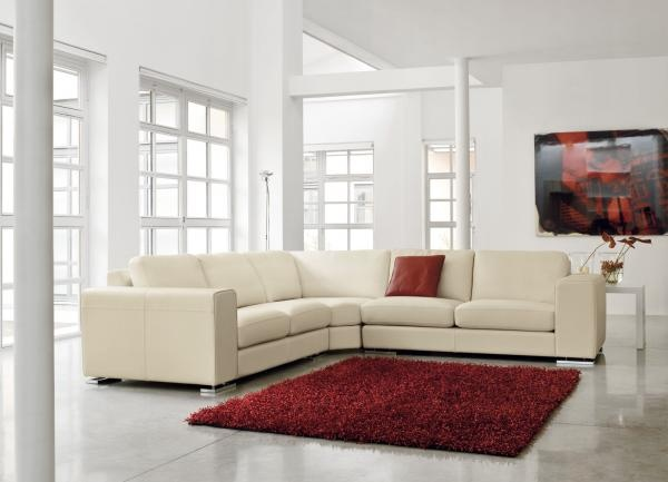 oltre 25 fantastiche idee su arredamento con divano in pelle su ... - Grande Angolo Di Cuoio Divano Marrone Colore