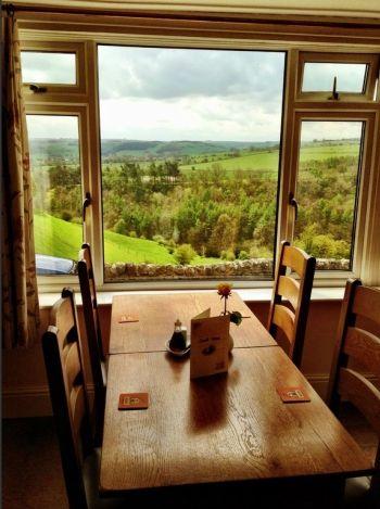 #Dinner at Lathkil Hotel, Over Haddon, Bakewell, Derbyshire.