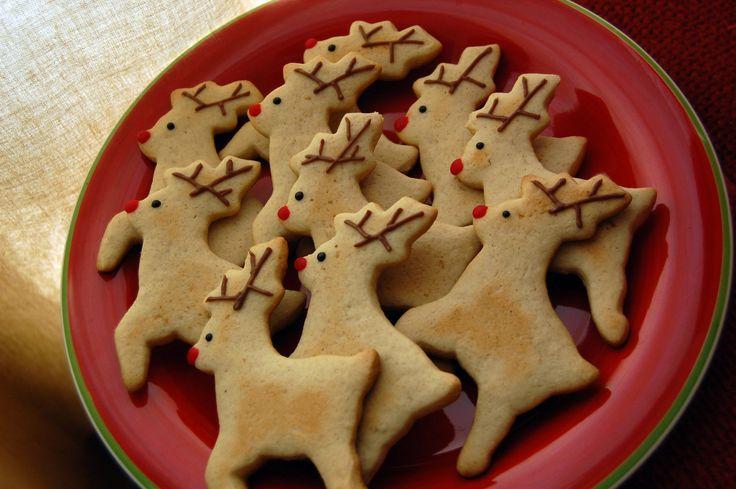 galletitas navideñas en forma de reno