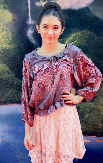 Rowan Blanchard at 'The Pirate Fairy' Los Angeles premiere...