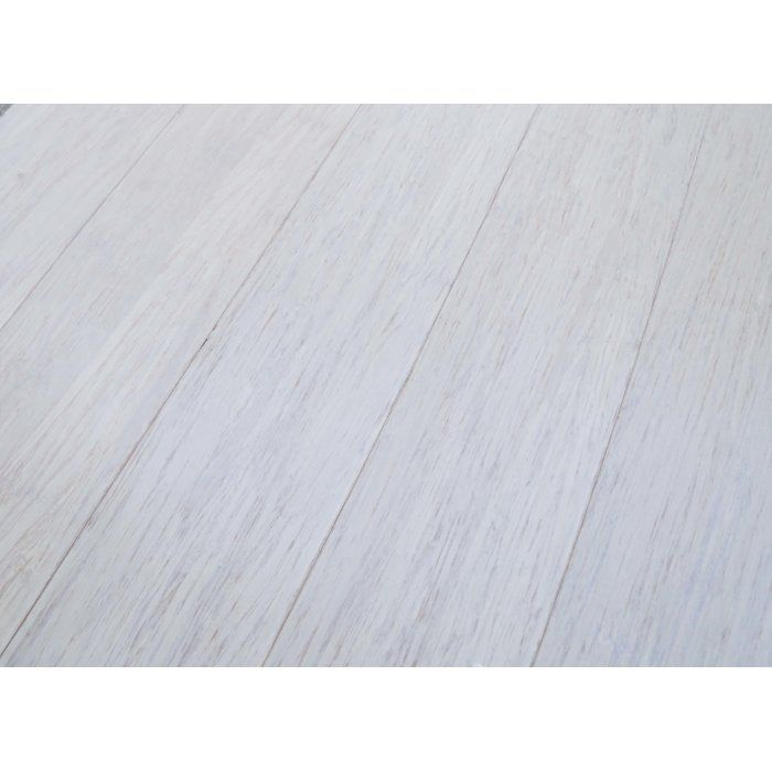 Vintage You ull love the uquot Solid Bamboo Flooring in White