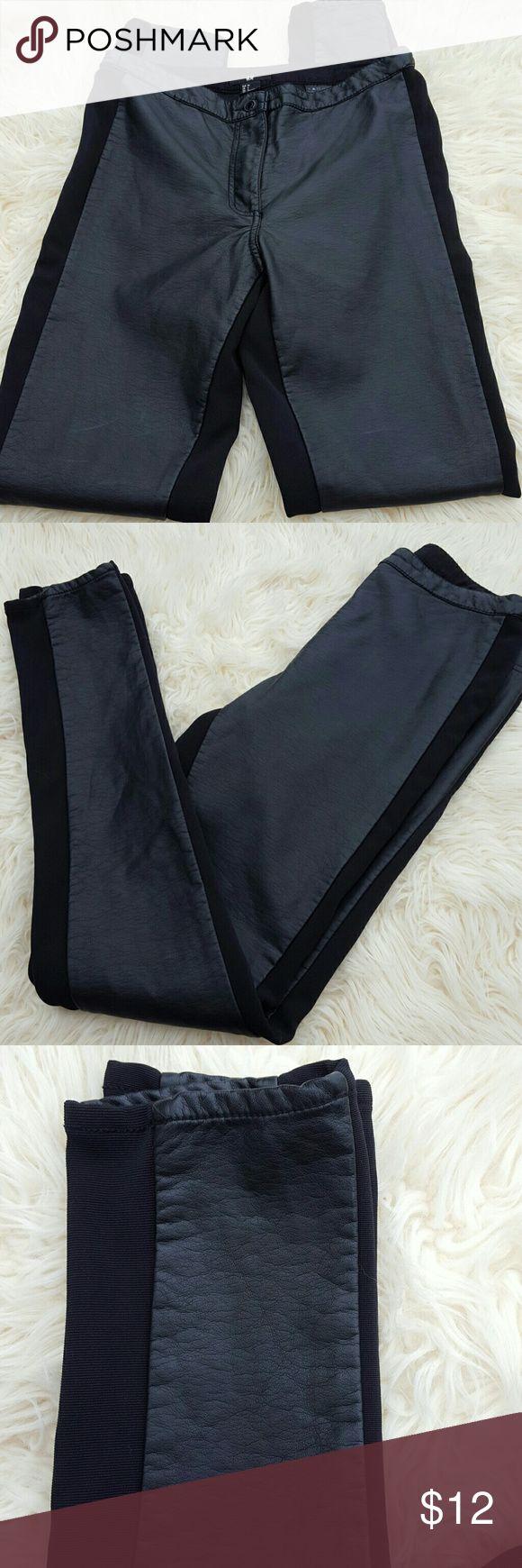 H&M LEGGINGS Leather. Side 97% polyester/3%elastane H&M Pants Leggings