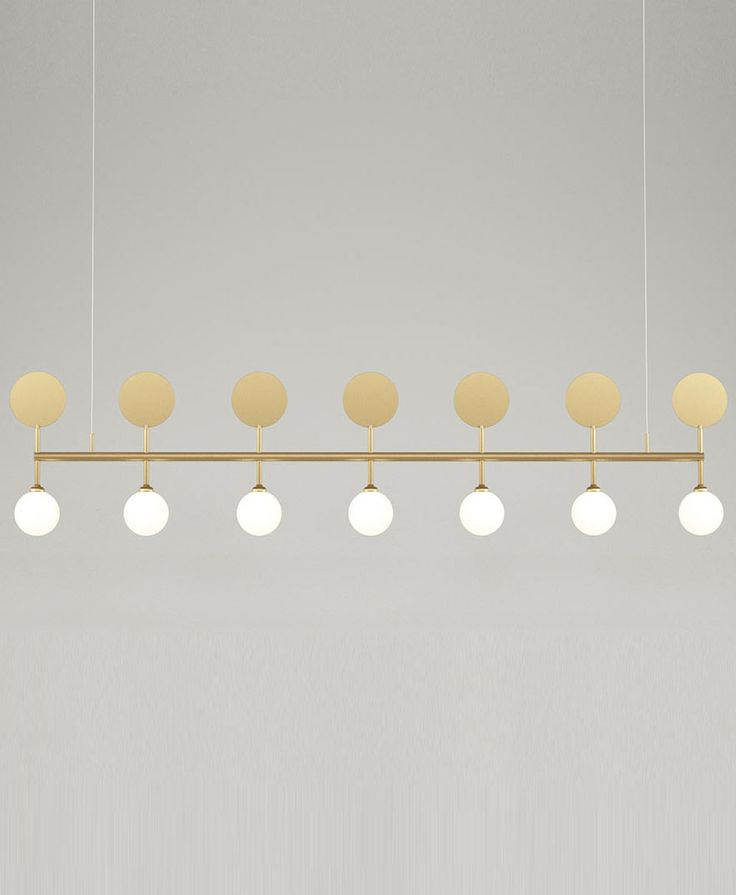 Atelier areti row pendant contemporary light