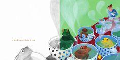 Filastrocca acqua e sapone per bambini coi piedi sporchi - Giovanna Zoboli e Maja Celija