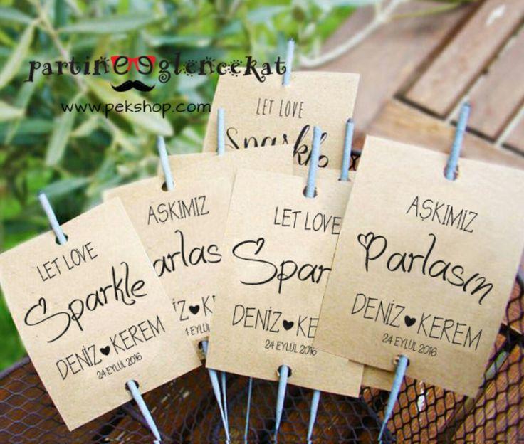 Kişiye Özel İsimli Düğün Maytapları . Size Özel Konsept Düğün Aksesuarları Masa Süsleri . Detayli bilgi ve siparis www.pekshop.com