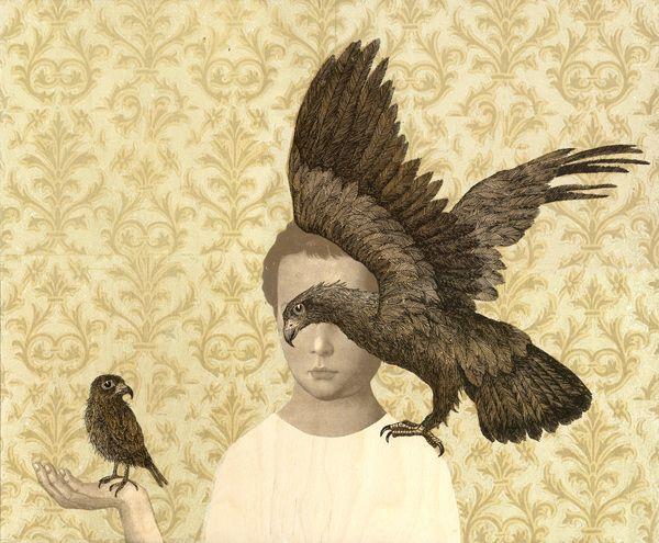 Piia Lehti: Luottamus / Confidence, 55 x 66 cm, silkscreen on plywood, 2014