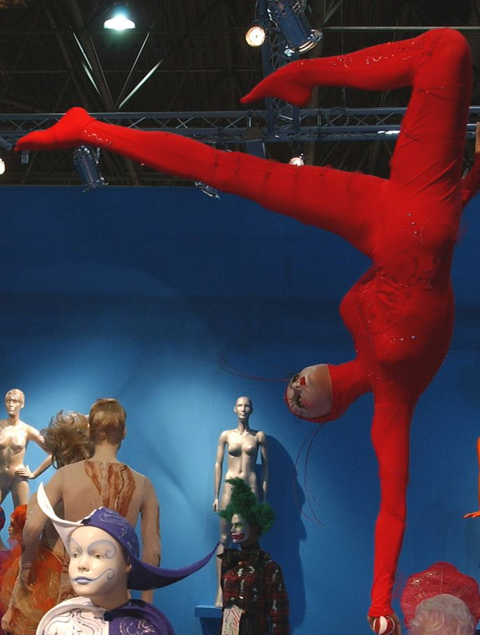 La contorsionista, Circus La Rosa Mannequins