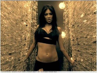 Nicole Scherzinger. Motivation to get in shape!-This is true. I want her killer abs. :)
