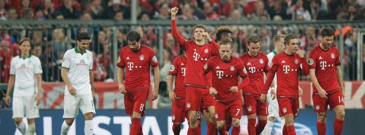 DFB-Pokal HF:Bayern München-Werder Bremen 2:0 - Münchner Minimalisten lösen Final-Ticket