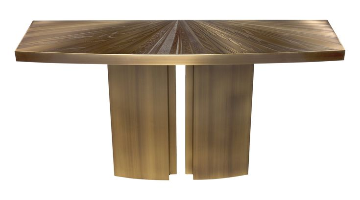 Buy Limited Edition Console Table by C. Heckscher by Studio Van den Akker - Limited Edition designer Furniture from Dering Hall's collection of Contemporary Industrial Mid-Century / Modern Transitional Console Tables.