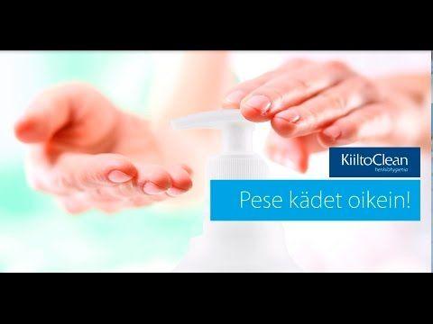 Pese kädet oikein! - YouTube