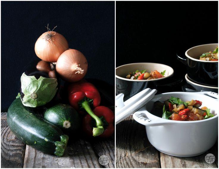 Geen simpele of snelle Ratatouille recept! Wel de lekkerste die je ooit hebt gemaakt. Een prachtig recept vol groenten en malse kip. Lees hier verder.