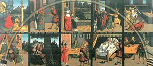 Cele zece porunci - Wikipedia. Pictura de Lucas Cranach