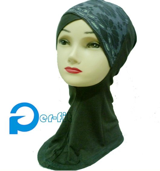 Find More Scarves Information about ninja underscarf neck cover lace crossover head cover hijab turban cap 8 colors 20pcs/lot free ship,High Quality hijab scarf,China hijab muslim Suppliers, Cheap hijabs online from Sandra Hijab Boutique on Aliexpress.com