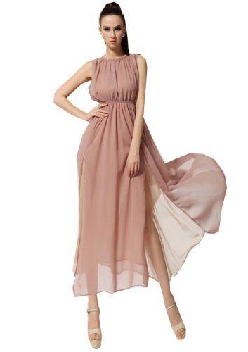 Zehui Womens Chiffon Ball Gown Evening Party Open Side Split Halter Long Dress Nude US12 Zehui,http://www.amazon.com/dp/B00E8CM9R8/ref=cm_sw_r_pi_dp_qXOfsb0T78YKFP2W