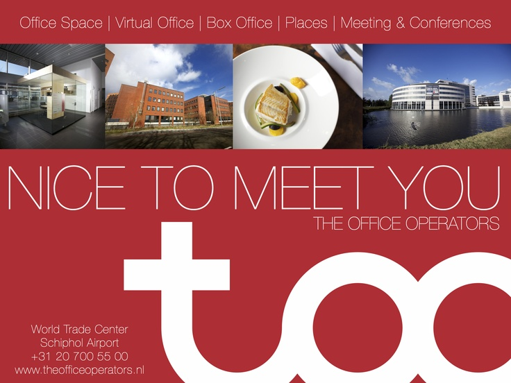 The Office Operators promotion april 2012. Designed by TOO inspired by Roemer Overdiep!